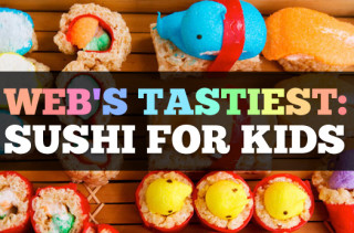 Web's Tastiest Sushi Recipes for Kids