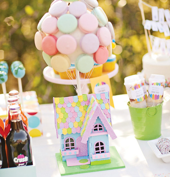 UP Inspired Birthday Party