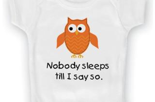 'Nobody Sleeps' Bodysuit