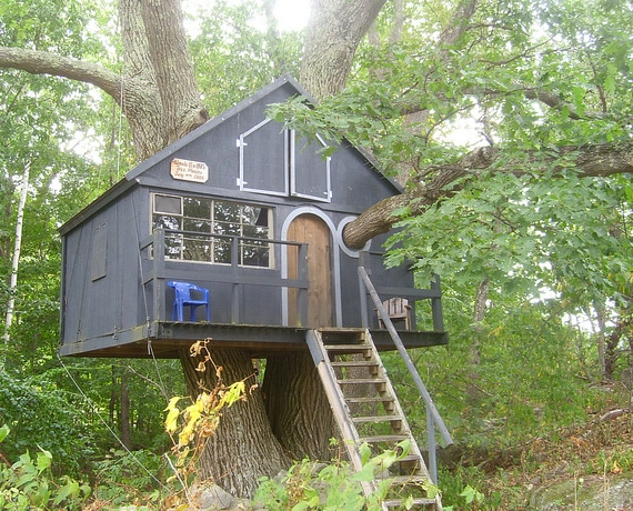 Children's Treehouse Ideas and Designs