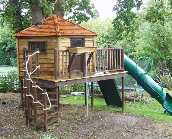 1000 Images About Kiddo Wants A Tree House On