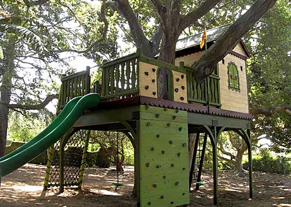 eco-friendly treehouse