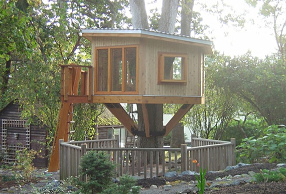 Expensive treehouse