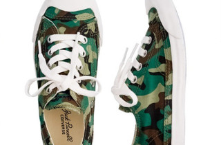 Converse x Jack Purcell x Crew Cuts Camo Sneakers