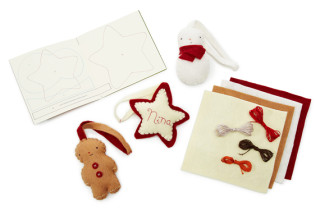 Holiday Ornament Felt Sewing Kit