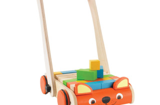 Eco-Friendly Wooden Baby Walker