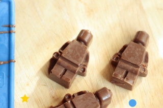 DIY Chocolate LEGO Minifigs