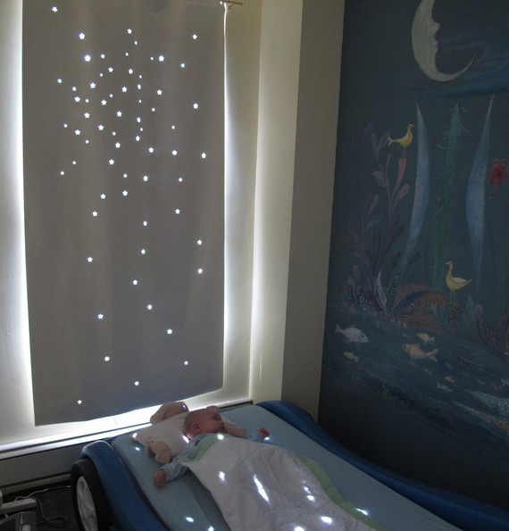 Twinkle Naptime Curtain