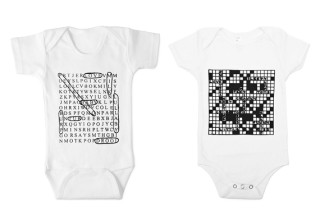Word Search & Crossword Bodysuits