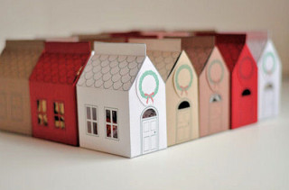 Make Your Own House Gift Box