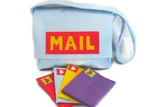 Felt Mail Bag