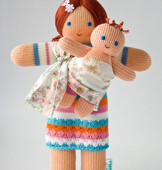 Babywearing Mommy Doll