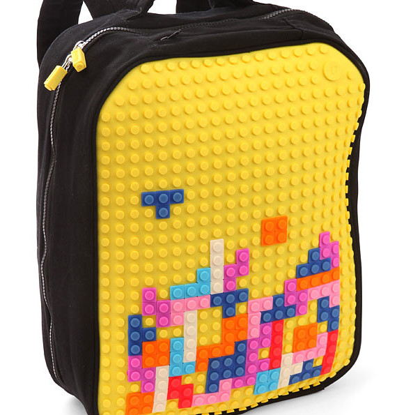Pixel Art Backpack