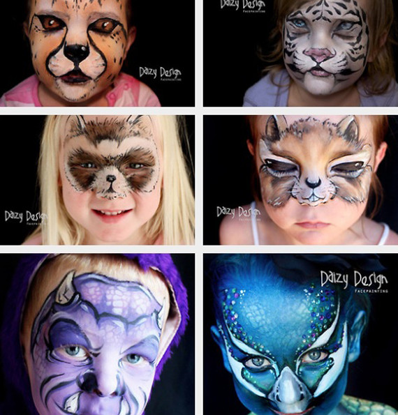 Elaborate Facepainting