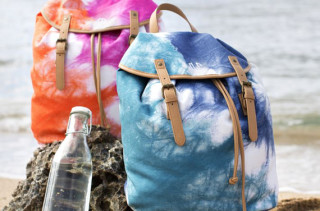 Be Bright Tie Dye Backpack