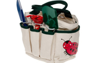 Toysmith Kids Garden Tote With Tools