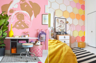 Modern & Dreamy Girls Bedroom