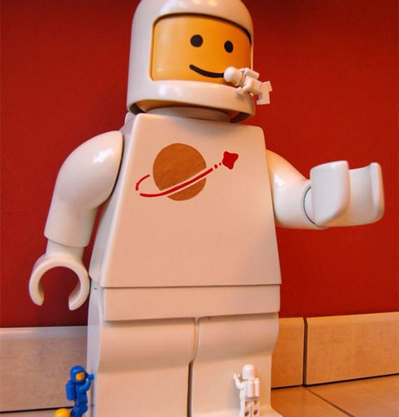 Super-Sized LEGO Minifig