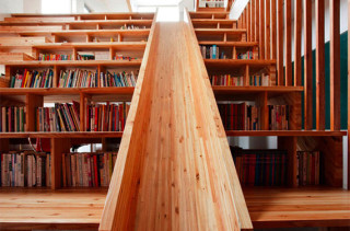 Home Library + Slide
