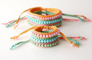 Mommy and Me Friendship Bracelets