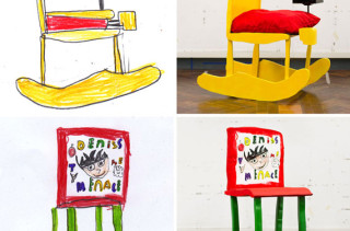Kids' Drawings Made Into Furniture