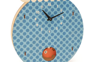 Fishbowl Clock