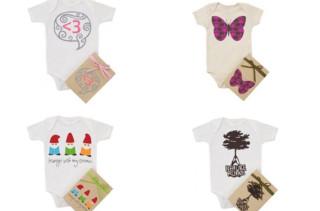 Morado Organic Baby Bodysuits