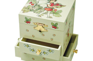 Flower Fairies Three Drawer Music Box