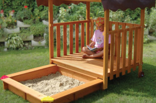 Hidden Sandbox Playhouse