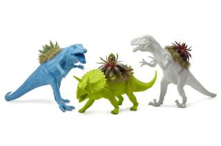Neon Dinosaur Planter