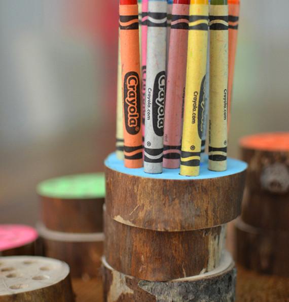 DIY Crayon Holder