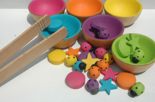Wooden Counting & Sorting Sets