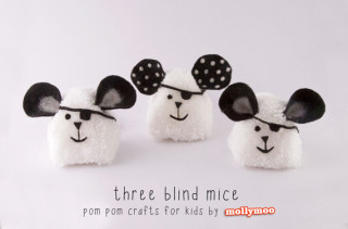Three Blind Mice Craft