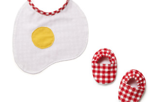 Breakfast Bib Set