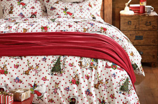 The Grinch Flannel Bedding