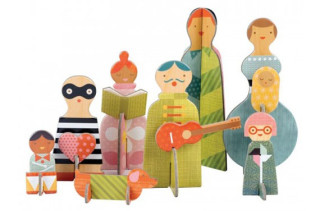 Petit Collage Pop-out & Play
