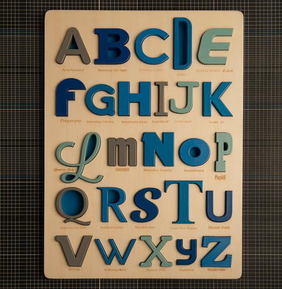 Modern Alphabet Puzzles