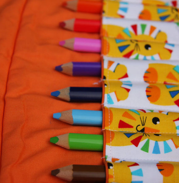 Colored Pencil Rolls