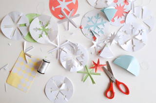 Better Paper Snowflakes