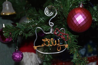 Personalized Hello Kitty Ornament