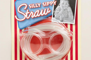 Silly Sippy Straw Glasses