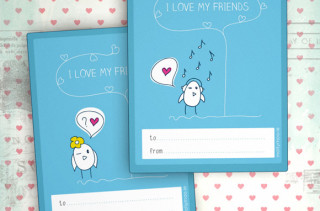 Printable Class Valentines by MollyMoo
