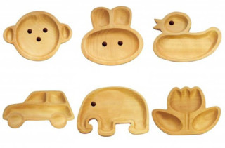 Wooden Animal Trays