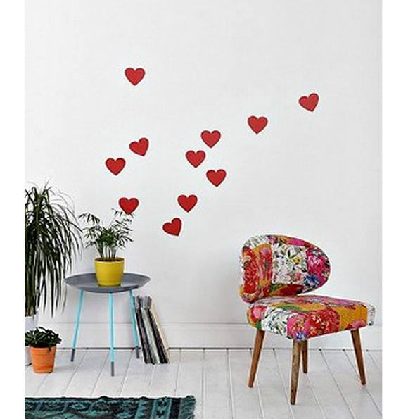 Heart Wall Decal Set