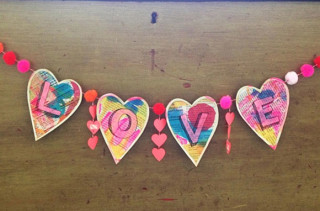 DIY Love Garland