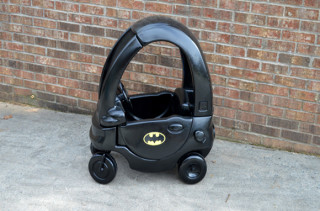 Step2 Car Turned Batmobile