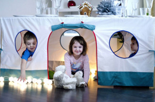 Tablecloth Playhouse for sale