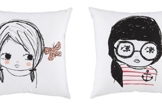 Land of Nod Girl Pillows