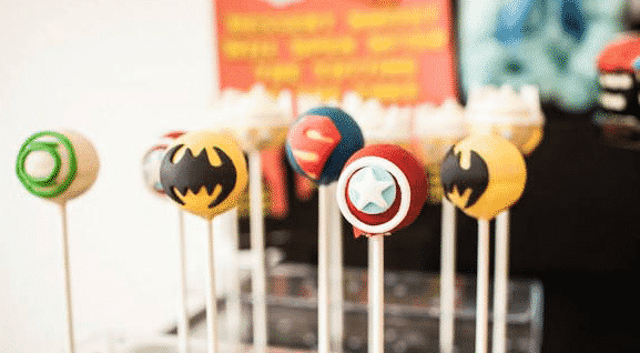 superhero cake pop recipe