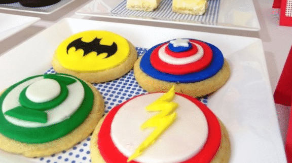 superhero cookie recipe 1